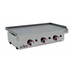 Plancha a gas de 9,6kW 800x400mm
