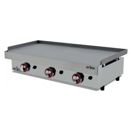 Plancha a gas de 9,6kW 1000x400mm