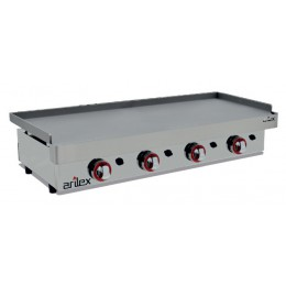 Plancha a gas de 12,8kW 1200x400mm