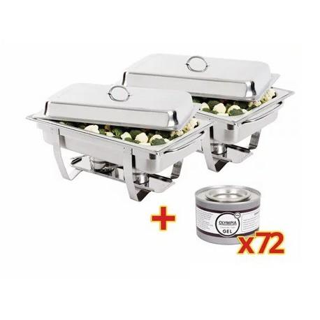 2 Chafin GN 1/1 + 72 recargas de combustible