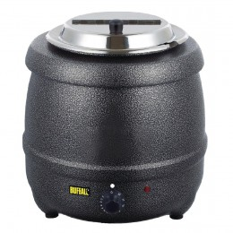 Olla calentadora de sopa grafito 10L