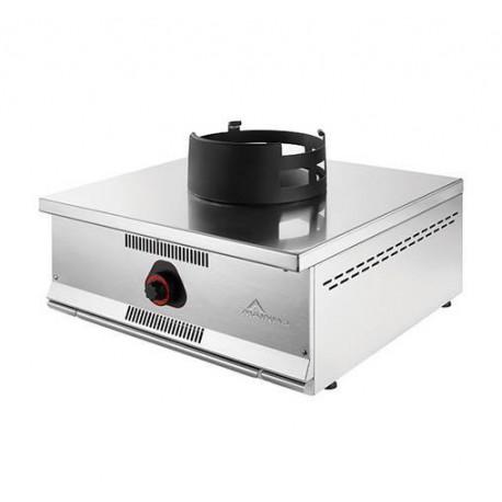 cocina wok sobre mostrador de 1 fuego