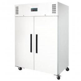Armario congelador 2 puertas 1200L lacado blanco