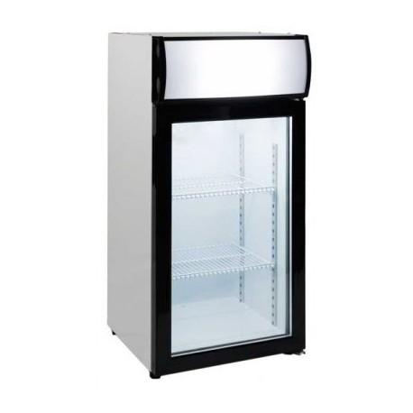 Expositor sobremesa congelación 80L