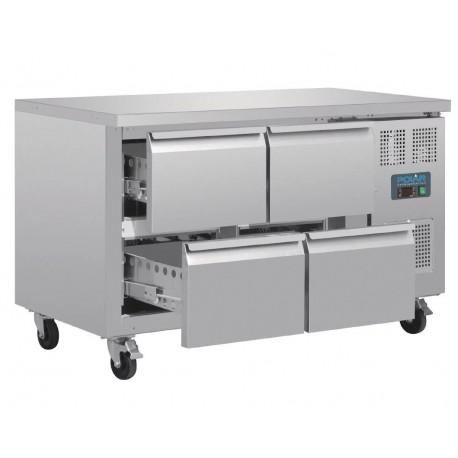 Bajo mostrador refrigerado 4 cajones