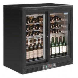 cava de vinos 56 botellas 2 puertas deslizantes