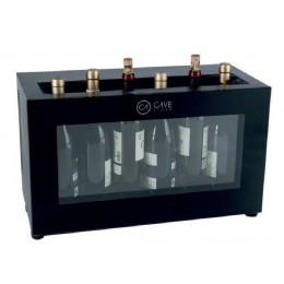 Expositor de barra para 6 botellas de vino - Refrigeración termoeléctrica