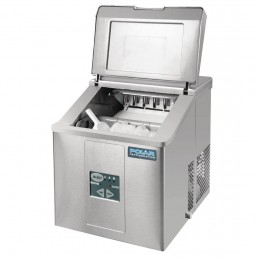 Máquina de hielo sobremostrador 17kg/24h