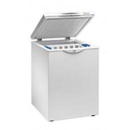Congelador horizontal 620x580x840mm con puerta ciega abatible