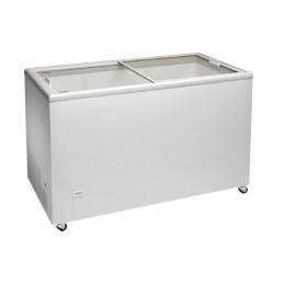 Congelador horizontal 1503x670x895mm con puerta vidrio corredera