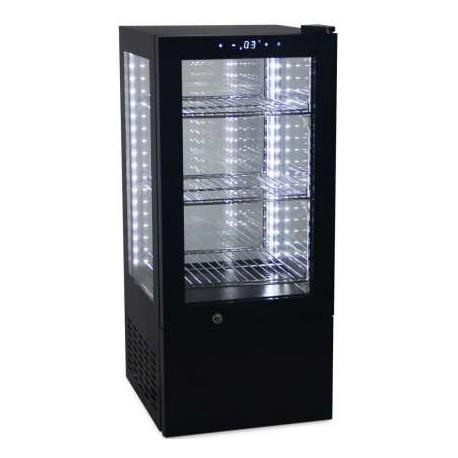 expositor refrigerado vertical sobremesa 65L