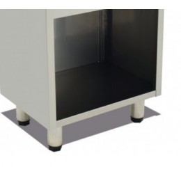 Mesa soporte de acero inoxidable 745x400x600mm