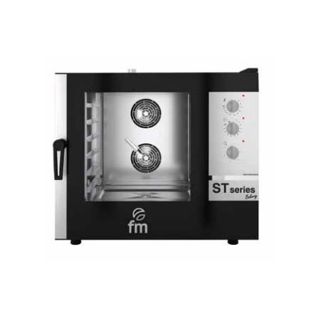 Horno mixto 6X600x400/GN N/1 de 10,5kW