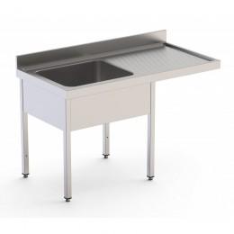 Fregadero desmontado especial lavavajillas 1200x600x850mm