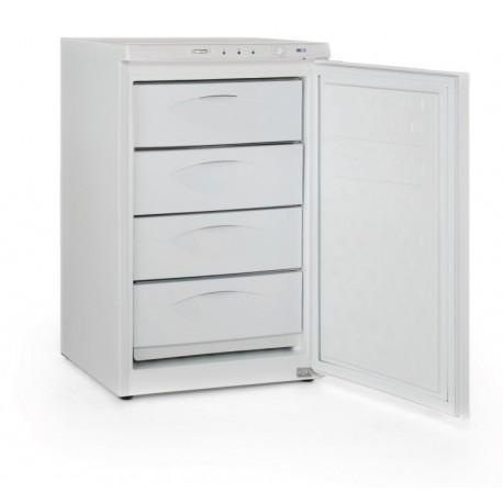 Congelador vertical puerta ciega con 4 cajones de 540x600x910mm