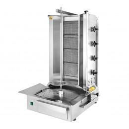 Máquina Doner Kebab 4 quemadores