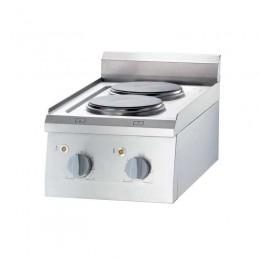 Cocina eléctrica sobremesa 2 placas
