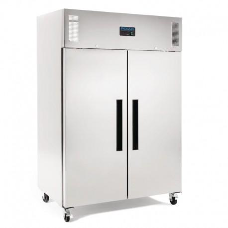 congelador profesional 2 puertas 1200L acero inoxidable