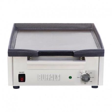 Plancha eléctrica sobremesa 2,8kW 380x385mm