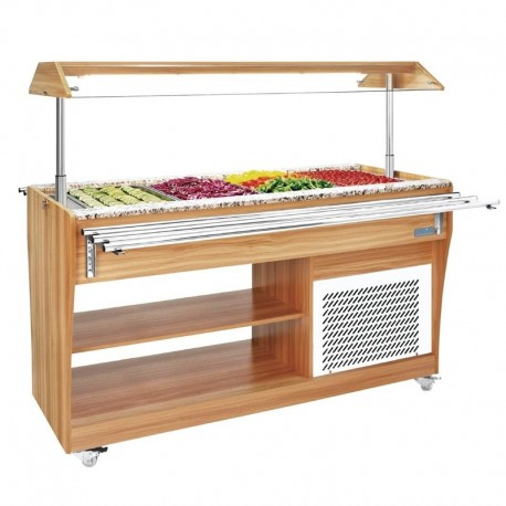 Mesa buffet refrigerada 1490mm