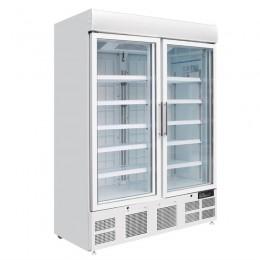 Armario expositor de congelación 2 puertas 920L
