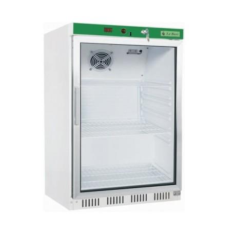 Armario expositor refrigerado sobremostrador blanco 130L