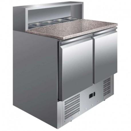 Mesa refrigerada preparación ensaladas 900x700x1100mm