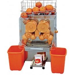 Exprimidor de zumos automático color naranja
