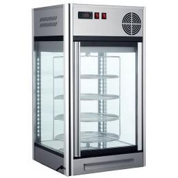 Vitrina expositora refrigerada sobremesa con sistema rotatorio