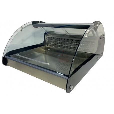 Vitrina refrigerada para pescado 695x882x417mm