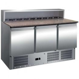 Mesa refrigerada preparación ensaladas 1365x700x1100mm