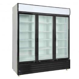 Armario expositor refrigerado 1500L 3 puertas batientes