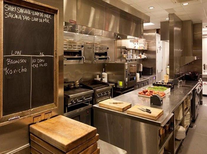 Distribución Cocina Restaurante