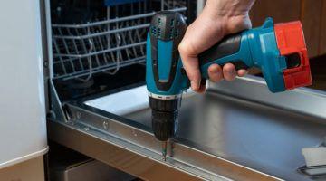 cómo instalar un lavavajillas